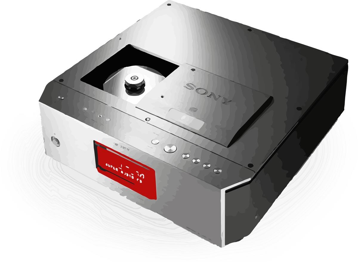 Geschichte der Stereofonie Sony SCD-1