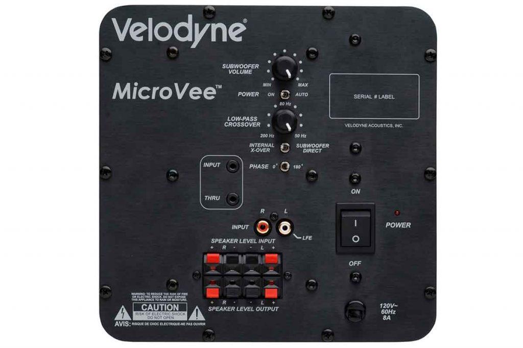 Velodyne MicroVee mkII Subwoofer