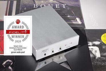 FIDELITY Award 2020 Genuin Audio Pearl