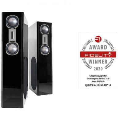 FIDELITY Award 2020 quadral Aurum Alpha