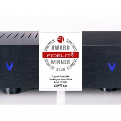FIDELITY Award 2020 Valvet A4e
