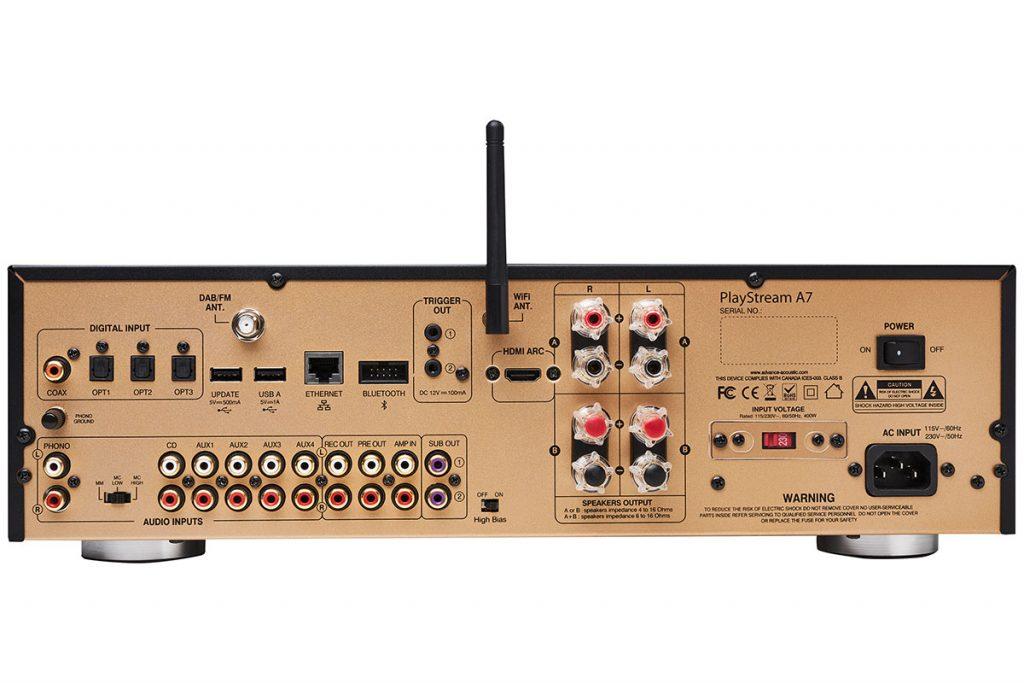 Advance Paris A7 Netzwerk-Receiver