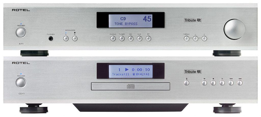 Rotel Tribute A11 und CD11