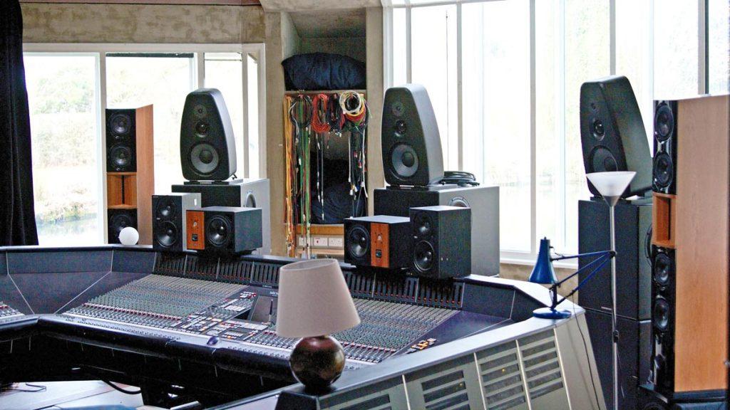 KSdigital ADM 22 Mk II Aktivlautsprecher in den Real World Studios von Peter Gabriel