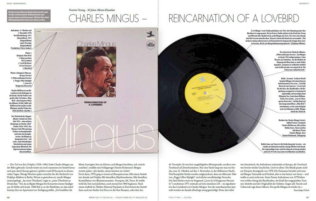 Charles Mingus, Reincarnation of a Lovebird