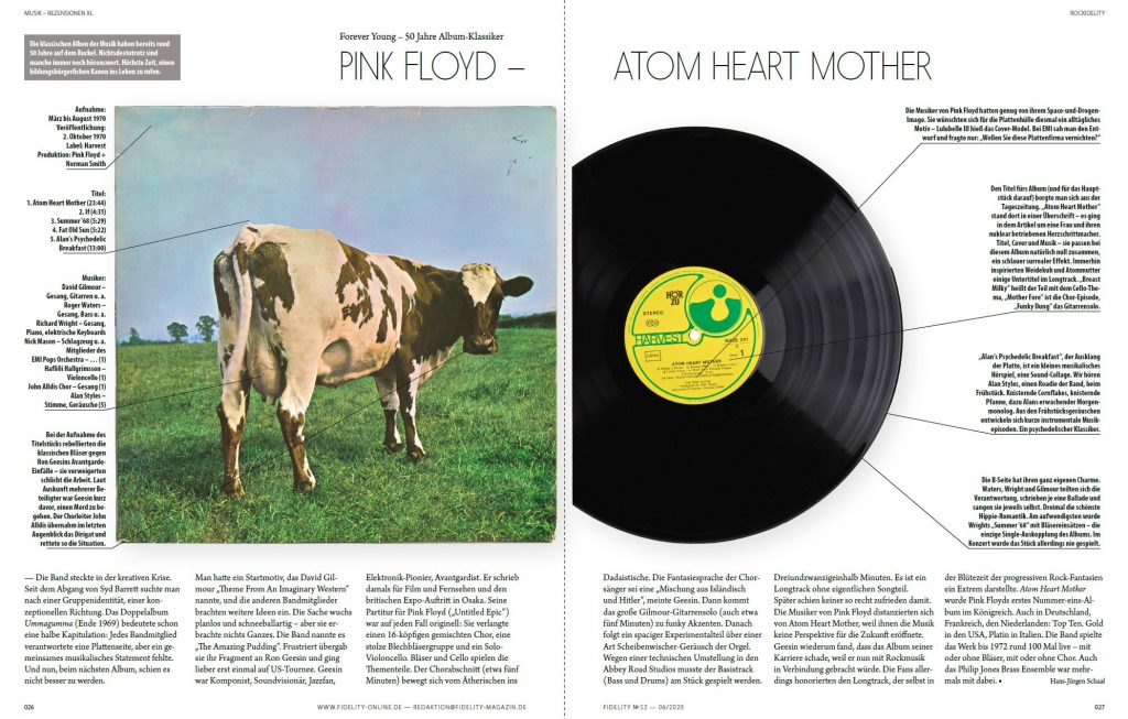 Atom Heart Mother, Pink Floyd
