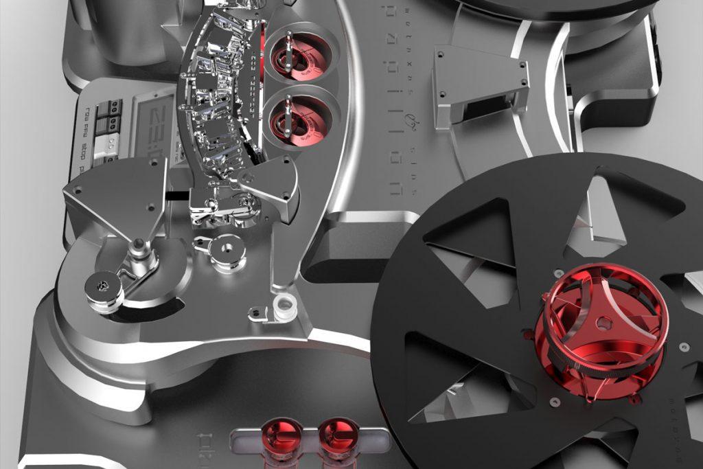 Metaxas Papillon Tonbandmaschine