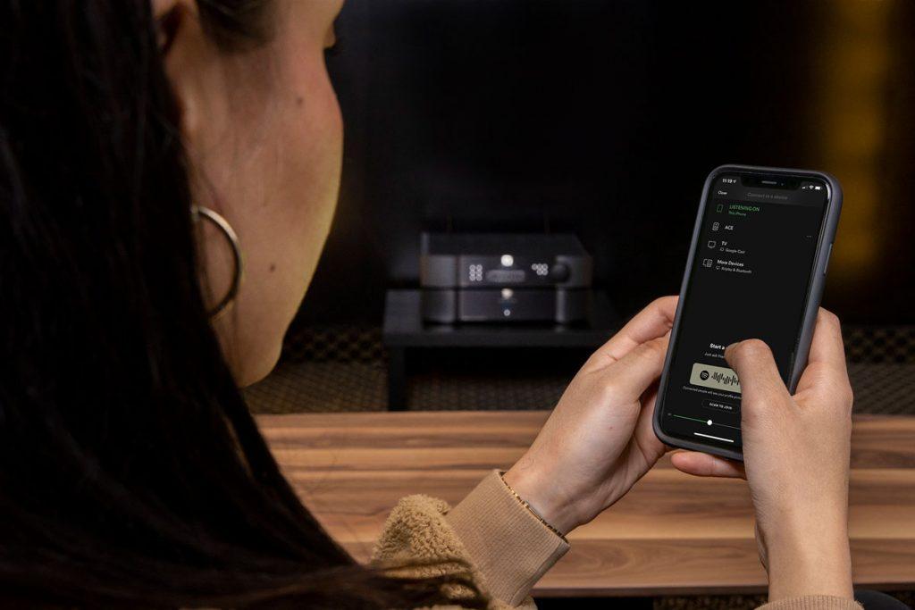 Spotify Connect für Moon und SimAudio