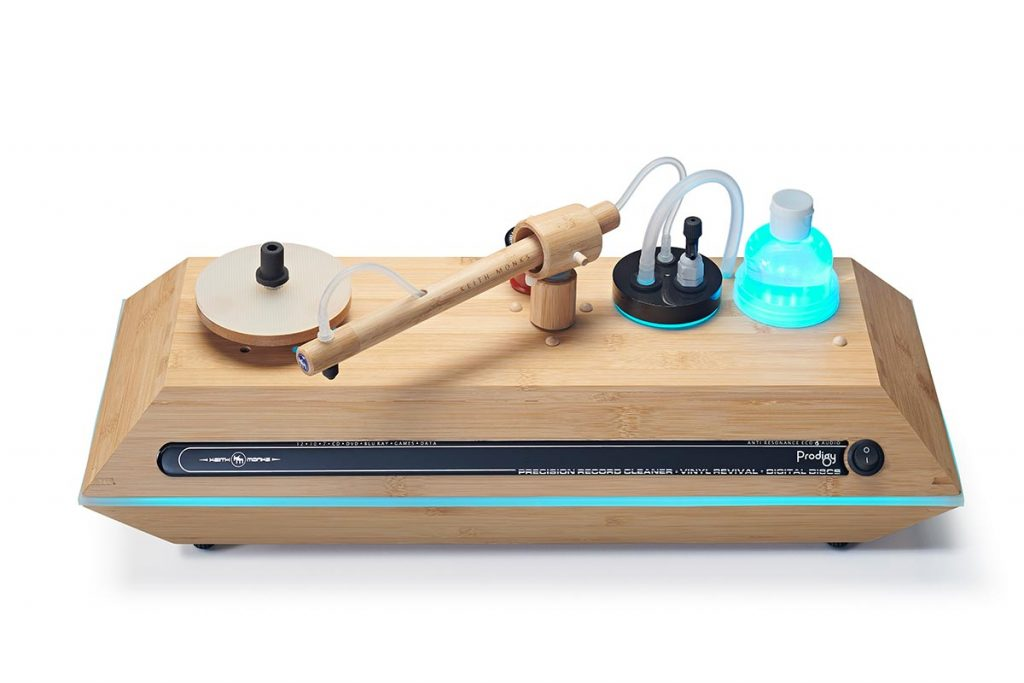 Keith Monk Plattenwaschmaschinen bei IAD
