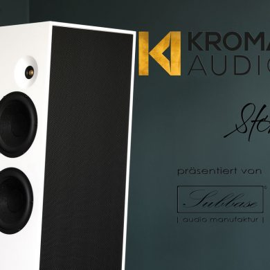 Kroma Audio im Vertrieb von Subbase Audio