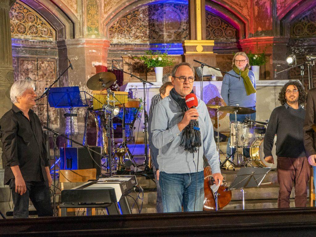 Rolf Zielke Record-Release Zionskirche, Berlin