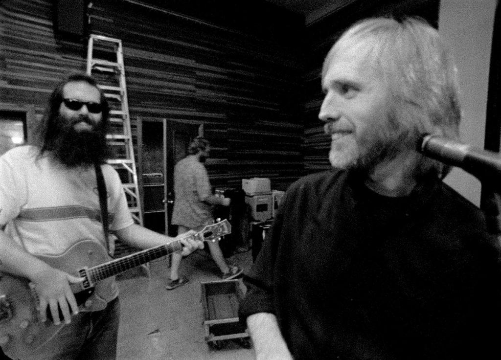 Tom Petty und Rick Rubin, credit Martyn Atkins
