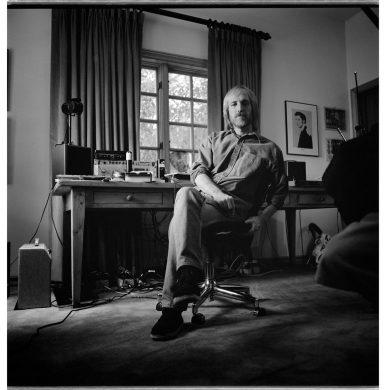 Tom Petty im Home-Studio, credit Robert Sebree