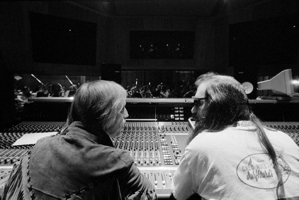 Tom Petty und Rick Rubin, credit Robert Sebree