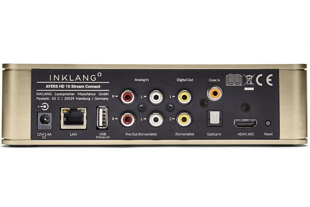Inklang Ayers HD10 Stream Connect