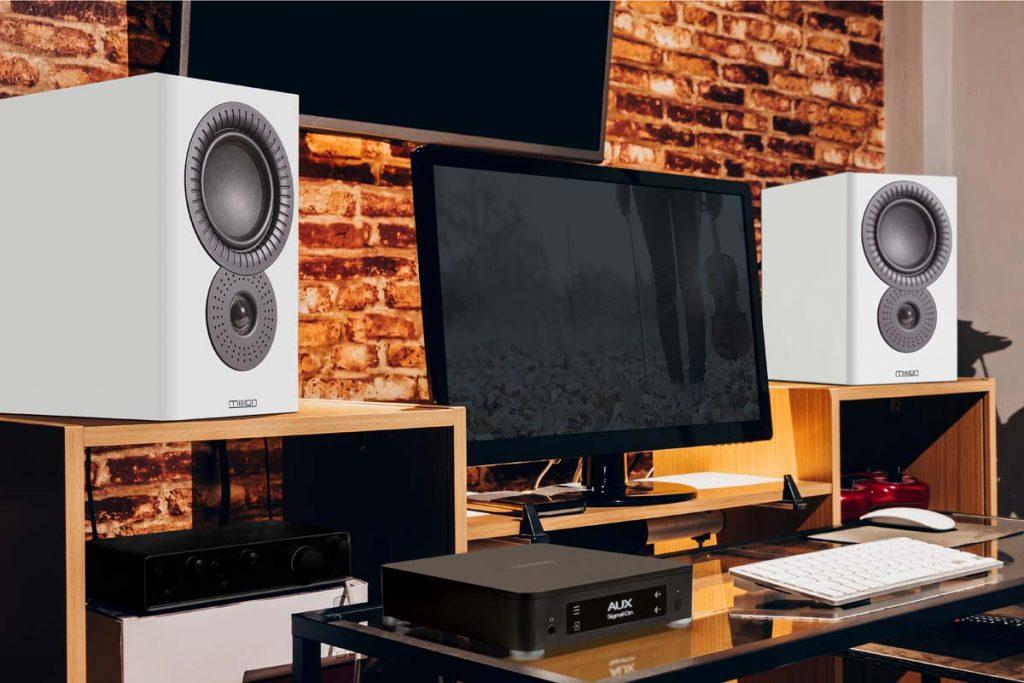 digital home entertainment & sound studio in modern lifestyle, a