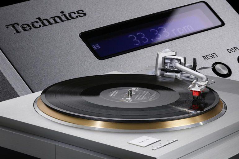 Technics SL-1000R Plattenspieler