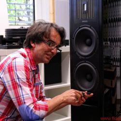 Rene Eichenseer von Refine Audio. Viel mehr als nur Schrauben nachziehen: Refine Audio bietet subtilen Service inklusive einiger Überraschungen.