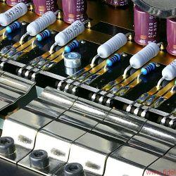 AVM Ovation Series PA8 + SA8.2 - Fixierte Leistungstransistoren, vergoldete Leiterbahnen,. AVM-Perfektion bis ins allerkleinste Detail, hier die SA8.2