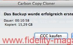 Screenshot Carbon Copy Cloner