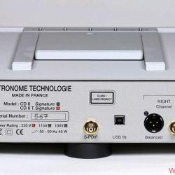 Metronome Technologie CD8T Signature - Der USB-Eingang zur Nutzung des Wandlers mit dem Computer sollte allgemein Pflichtausstattung werden