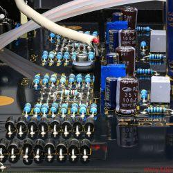 Whest ThreeSignature - In das Extragehäuse wanderte nur der Trafo' die Gleichrichterdioden sitzen gleich hinter den Verbindungsbuchsen