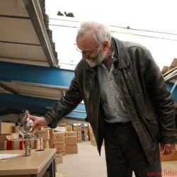 FIDELITY zu Gast bei Peter Qvortrup, Audio Note UK - Halle 2 mit kommenden Projekten? Unterm Dach wohnen jetzt Tausende von Röhren, auch Riesenexemplare