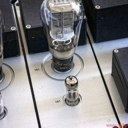 Swissonor AM 6441 - Als Treiberstufe für die 300B dienen kräftige Doppeltrioden vom Typ 12BZ7