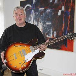 FIDELITY zu Besuch bei Einstein Audio Components - Bluesgitarrist Volker Bohlmeier