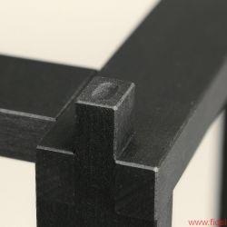 Harbeth Compact 7ES plus HiFi auf dem Bauernhof Reference Stand 7 - Zeitlos gut: maßgeschneiderte Stative in Holz' geschraubte Schallwände' Single-Wiring-Terminals