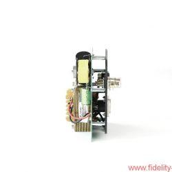 MFE Secundo - Die Frequenzweiche ist zweiteilig ausgeführt – hier der Tieftonzweig – und daher problemlos bi-wiring-fähig