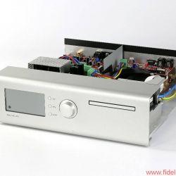 Soulution 541 + 530 - Dreh & Klick: wenige Bedienungselemente genügen' um Laufwerk' DAC und Vorstufe zu konfigurieren