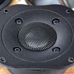 Bryston Mini A - Hochtöner mit Schutzabdeckung und leichter Schallführung