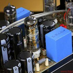 """EternalArts HLP/PAS - Spannungsregler vom alten Schlag: Mit Gas gefüllte """"Glimmstabis"""" halten in der Vorstufe HLP die Anodenspannung konstant"""