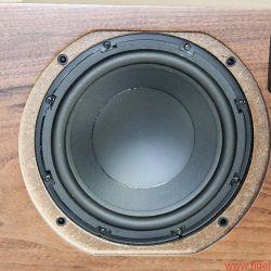 Ruark Audio R7 High Fidelity Radiogram - Ein 8-Zoll-Bassreflex-Woofer sorgt für Druck von und nach unten