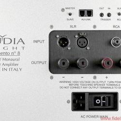 Audia Flight Strumento No.1 / Strumento No. 8 - Das Anschlussfeld lässt praktisch jede Ansteuerung zu.