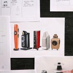"""Bang & Olufsen BeoLab 90 - B&O gewährte intensive Einblicke in alle Stadien der Entwicklung und Fertigung: von ersten Entwürfen bis zum Alugussgehäuse, vom Modellbau über die Montage bis zu den Messräumen. Entscheidende Klanginstanz ist """"Tonmeister"""" Geoff Martin"""