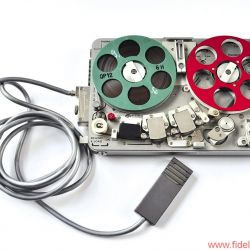 Nagra SN Tonbandmaschine - Flachmikrofon für die Aufnahme aus der Westentasche