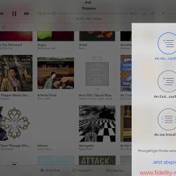 Auralic Aries Mini Screenshot - Auralic setzt auf die Lightning-DS-Plattform und die gleichnamige Steuerungs-App. Wer diese, wie hier abgebildet, auf einem iPad installiert, kann sich über eine klar strukturierte, übersichtliche sowie optisch ansprechende Darstellung und sehr gute Bedienbarkeit freuen. Zu den Vorzügen von Lightning DS gehört die Option, den Aries Mini direkt als Server einzusetzen; damit bieten sich weitere Sortiermöglichkeiten des Musikbestandes etwa nach Abtastrate oder Datum. Lightning DS ist auch bei der Einrichtung des Aries Mini behilflich.