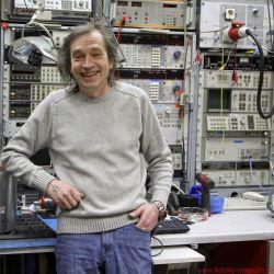 GECOM Technologies - Stephan Götze gut gelaunt vor ungefähr 0,5 Prozent seines Messparks