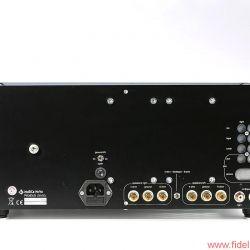 Musica Nova Phoenix 2.2 und Pegasus 50/50 - 50 Watt pro Kanal in einem Ultralinear-Konzept mit großem Schaufenster: Stereoendstufe Pegasus 50/50