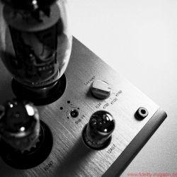 Lyric Audio Ti 140 Röhren-Vollverstärker - Der Ti 140 verträgt vier verschiedene Leistungsröhren: EL34, KT88, KT120 und KT150. Zudem lässt sich auf der Rückseite des Integrierten die Gegenkopplung variieren.