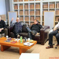 AVID zu Besuch bei FIDELITY zur Präsentation von Good - Better - Best. Im Bild: Martin Klaassen, Helmut Hack, Uwe Kuphal und Conrad Mas.