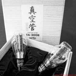 Air Tight ATM 300 Anniversary - Neben den Leistungsröhren von Takatsuki kommen Gläser von Electro-Harmonix zum Einsatz, die nicht (gleich) gewechselt werden sollten – nicht einmal die Gleichrichterröhre 5U4GB, obwohl mit bestimmten NOS-Typen, etwa von General Electric, durchaus noch Steigerungen vorstellbar sind.