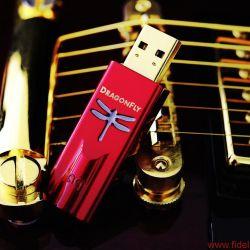 AudioQuest Dragonfly Red und Dragonfly Black