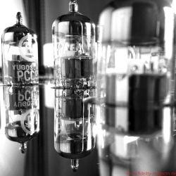 Einstein Vorverstärker The Preamp und Endverstärker (Monoblöcke) The Silver Bullet
