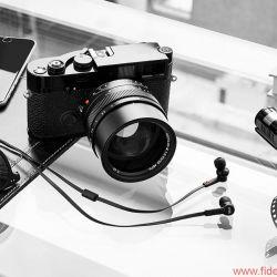 Leica und Master & Dynamic for 0.95, Ohrhörer
