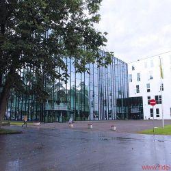 FIDELITY zu Besuch bei Audes in Estland - Kontserdimaja in Jõhvi: Das verblüffend große und gut klingende Konzerthaus wird auch von Igor gern besucht