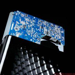 KEF LS50 Wireless Aktivlautsprecher - Eine DSP-Frequenzweiche teilt den Verstärker/Treiber-Kombis ihren jeweiligen Arbeitsbereich zu und übernimmt zugleich Time-Alignment und Echtzeit-Phasenkorrektur.