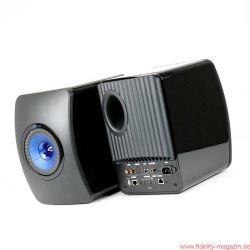 KEF LS50 Wireless Aktivlautsprecher - Technisch sind die LS50 Wireless nach dem Master-Slave-System aufgebaut.